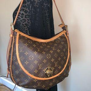 Auth. Louis Vuitton Monogram Tulum PM Shoulder Bag